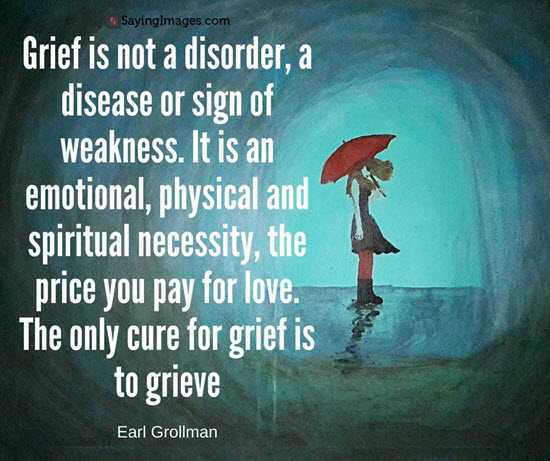 EARL GROLLMAN QUOTE – Grief Poetry